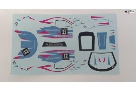 Set calcas GT3 Italia Blue 21