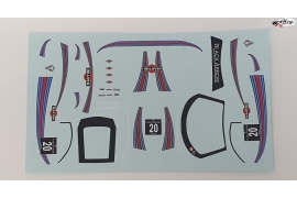 Decals set GT3 Italia Martini 20