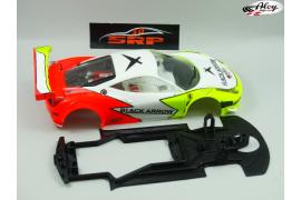 Chasis 3D Ferrari Italia GT3 BA