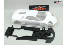 Chassis 3D Murciélago Black Bull, BA