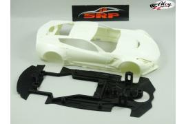 Chasis 3D Corvette C7-R SC