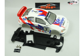 Chassis 3D Hyundai Accent AW Cartrix  ( Rally )