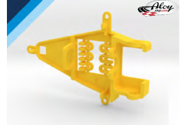 Soporte motor 0.6 mm Offset IL Triangular