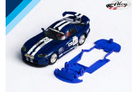 Chasis 3DP SLS para Dodge Viper GTS-R. Carrera Slot.it AW