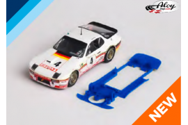 Chasis 3DP SLS Porsche 924 Falcon Slot.  Slot.it