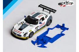 3DP SLS chassis for Mercedes SLS GT3 SC. Slot.it Evo6