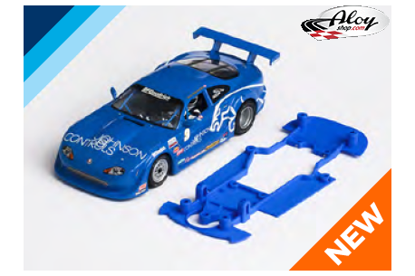 3DP SLS chassis for Jaguar XKR Transam SCX. Slot.it AW
