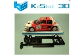 Chasis lineal Black 3DP Peugeot 205 T16 Spirit
