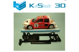 In Line chassis Black 3DP Peugeot 205 T16 Spirit