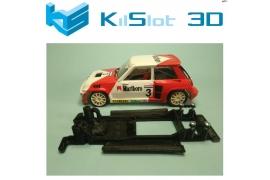 Chasis lineal Black Renault 5 Turbo Spirit