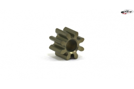 Pinion 8 d. M50 steel for 2mm shaft