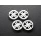 Montecarlo hubcaps for 16.5 SP rim