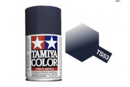Metallic dark blue TS - 53 Spray paint