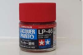 Pure Metallic Red  lacquer paint LP-46