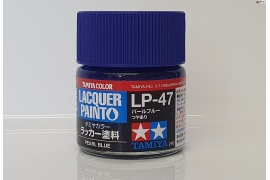 Pearl blue lacquer paint LP-6