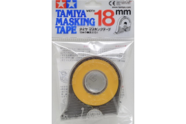 Masking tape 18 mm. with roll-holder