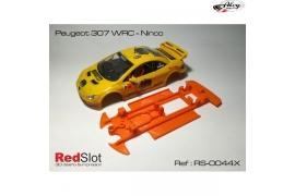 Chasis ( blando ) en línea 3DP Peugeot 307 Ninco