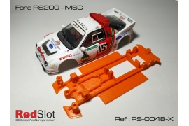 3DP In Line chassis (soft) Ford RS200 MSC/Scaleauto