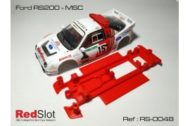 Chasis en línea 3DP Ford RS200 MSC