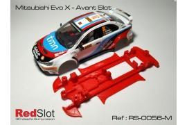 Chasis 3DP en línea Mitsubishi Evo X AS