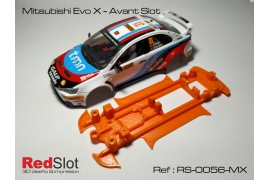3DP In Line soft chassis Mitsubishi Evo X AS