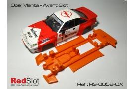 Chasis 3DP blando en línea Opel Manta AS