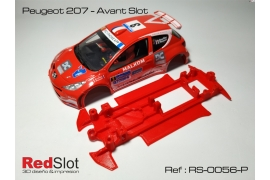 3DP In Line chassis Peugeot 207 AS