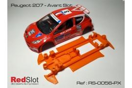 Chasis blando 3DP en línea Peugeot 207 AS