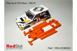 3DP In Line chassis soft Renault 5 Maxi SCX