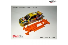 3DP In Line chassis soft Seat Cordoba WRC SCX