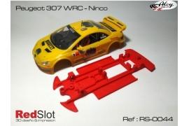 Chasis en línea 3DP Peugeot 307 Ninco
