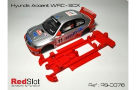 3DP In Line chassis Hyundai Accent WRC SCX