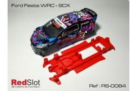 Chasis en línea 3DP Ford Fiesta WRC SCX