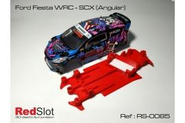 Chasis en ángulo 3DP Ford Fiesta WRC Scalextric