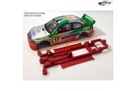 Chasis 3DP en línea Hyundai Accent WRC SCX
