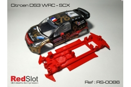In line angular chassis Citroën DS3 WRC SCX
