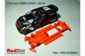 Chasis 3DP Blando en línea Citroën DS3 WRC SCX