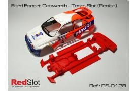 Chasis 3DP en línea Ford Escort Cosworth TS