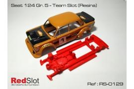 Chasis 3DP en línea Seat 124 Gr.5 TS