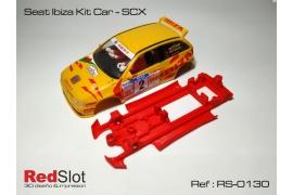 Chasis 3DP en línea Seat Ibiza Kit Car SCX