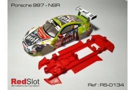Chasis 3DP en línea Porsche 997 NSR