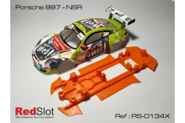 3DP In line soft chassis Porsche 997 NSR