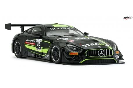 Mercedes AMG Strakka Racing Yellow AW