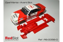 3DP In Line soft chassis Opel Manta AS