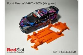 Chasis 3DP en ángulo Ford Fiesta WRC Scalextric