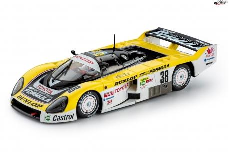 Toyota 86C Dunlop 24h Le Mans1989
