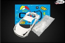 GT3 ITALIA bodywork VR46
