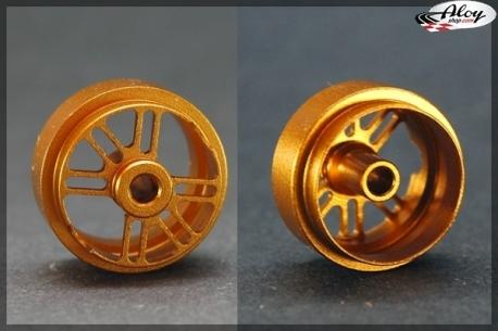 Aluminium rear rims 16.5x10 mm