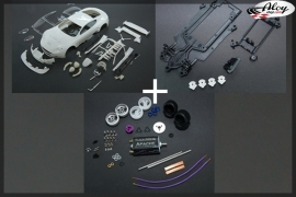 AM DBR9 Kit bodywork + Kit Chassis In-Line + Kit Mechanic