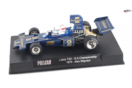 Lotus 72D South African Championship 1975